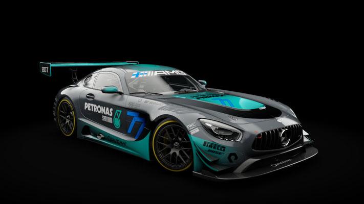 Mercedes AMG GT3 - #44 Hamilton / #77 Bottas