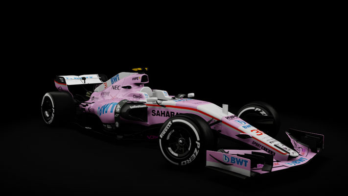 RSS Formula Hybrid 2017 , Force India F1 2018