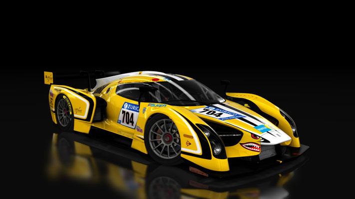Glickenhaus SCG003C Nürburgring 24h 2017 Traum Motorsport