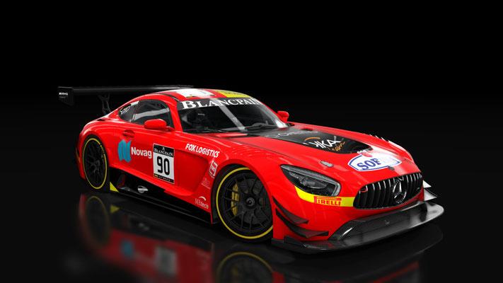 Mercedes AMG-GT3 AkkaAsp Team #90
