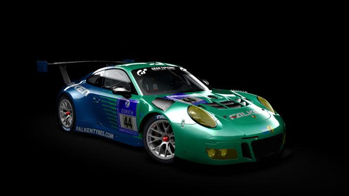 Porsche 911 gt3 r 2016 Falen motorsport