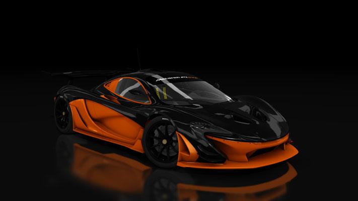 McLaren P1 GTR - Carbon Orange