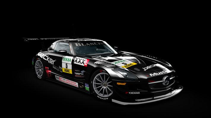 SLS GT3 MS Racing ADAC 2012 #5