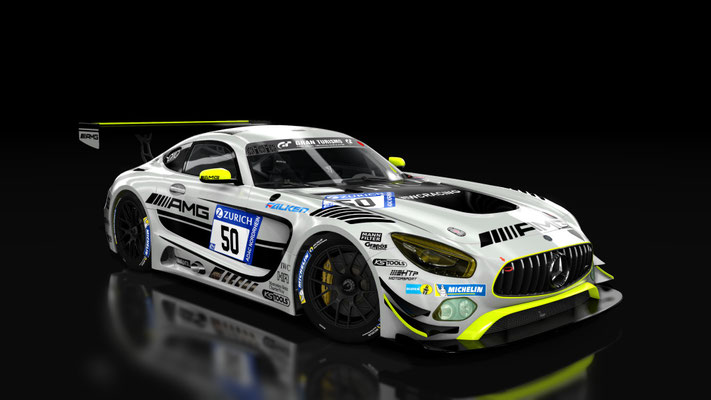HTP Motorsport AMG Skin Pack