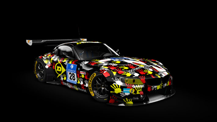 Walkenhorst Motorsport N24h 2014 #28 Art Car