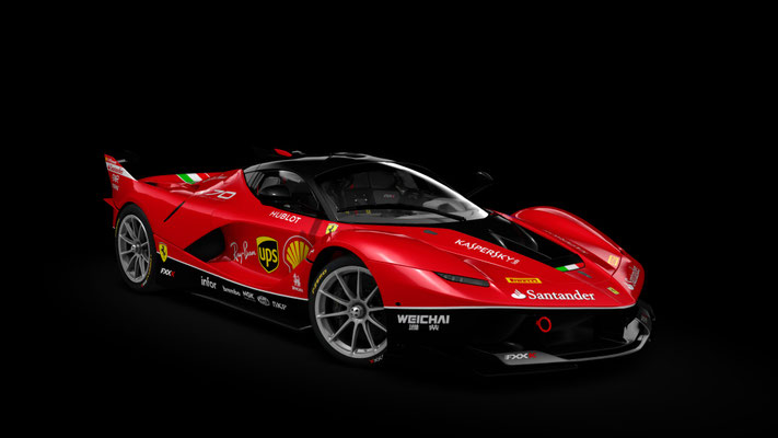70th Anniversary Custom Ferrari FXXK (4K)