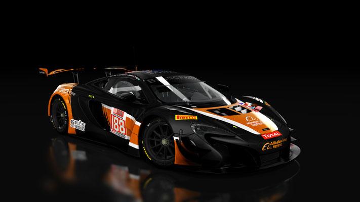 Mclaren 650s GT3 Garage 59 24hrs TOTAL SPA 2017 #188