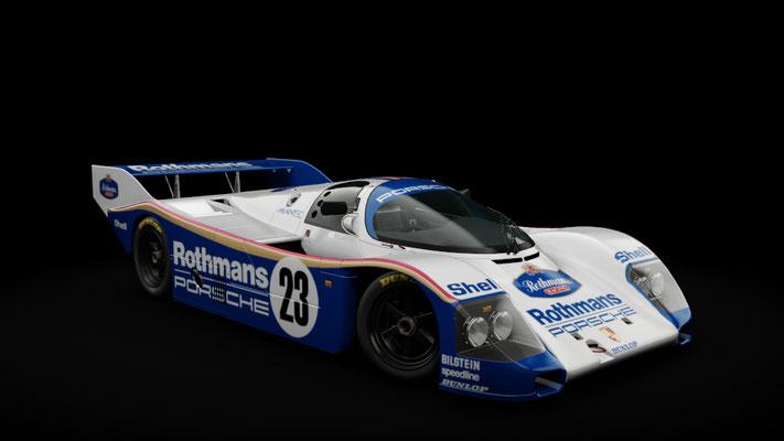 Porsche 962C Shorttail Rothmans