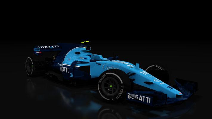 Sean Bull Design Bugatti Formula Hybrid Livery