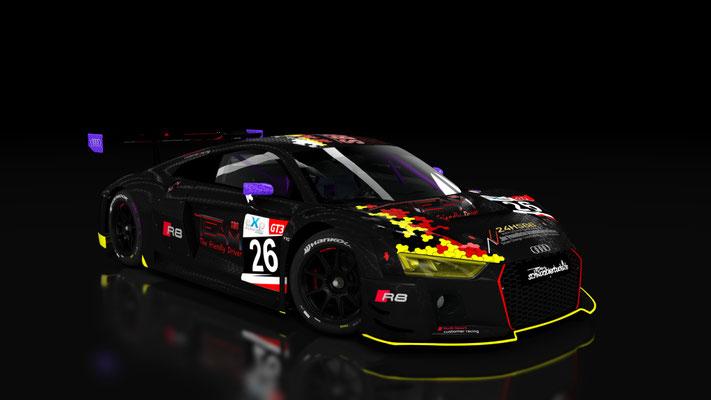 Audi R8 LMS 2016 - Team Schwarzbierbude #26