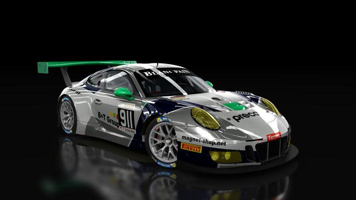 Herberth Motorsport 911 & 912 SPA 2017