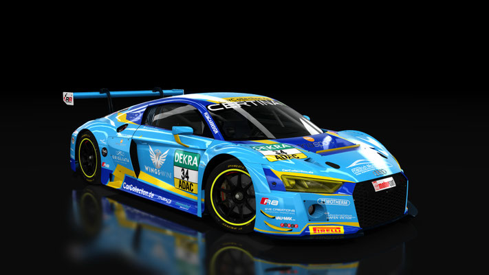 Audi R8 LMS - Car Collection #34 ADAC GT Masters 2016