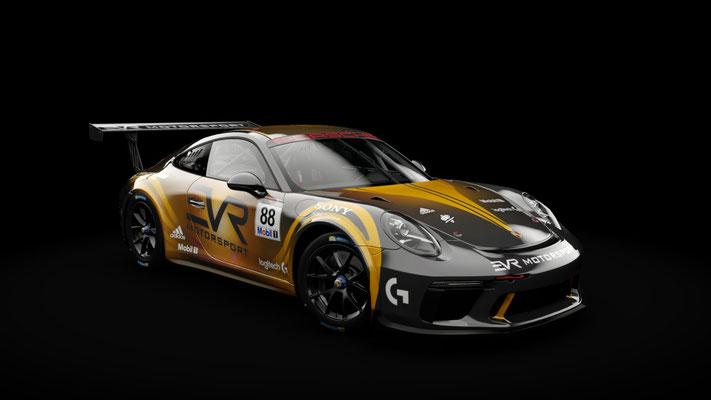 Porsche 911 GT3 Cup - EVR Motorsport #88