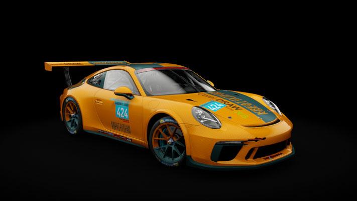Porsche 911 GT3 Cup 2017 - 3x KreativTeam - 8H Laguna Seca