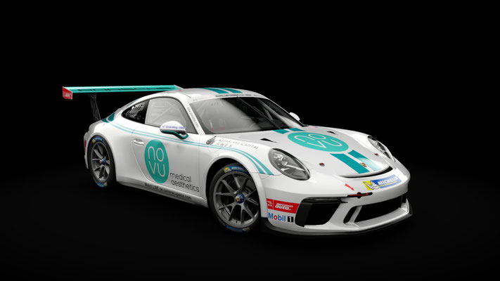 Porsche 911 GT3 Cup - Carrera Cup Asia 2018 - Novu Racing - Yuey Tan