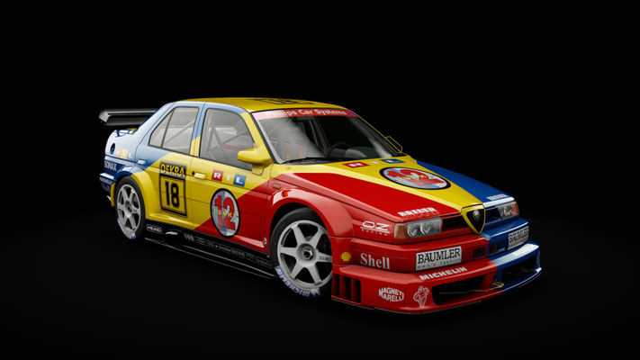 Alfa Romeo 155 TI V6 - RTL Schübel Team #18