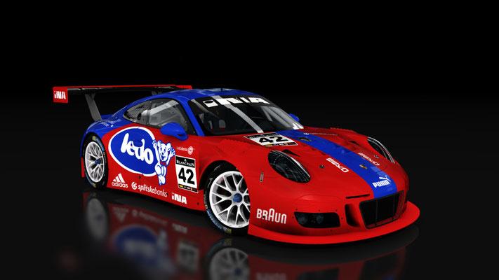 KS Porsche 911 GT3 R 2016 Fictional LEDO Livery