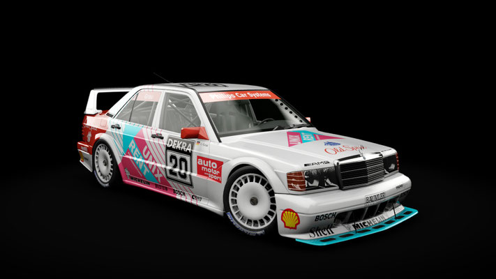Mercedes-Benz 190E EVO II - DTM Junior Team Unix Rent #20