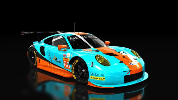 Porsche 911 RSR 2017 Gulf Racing