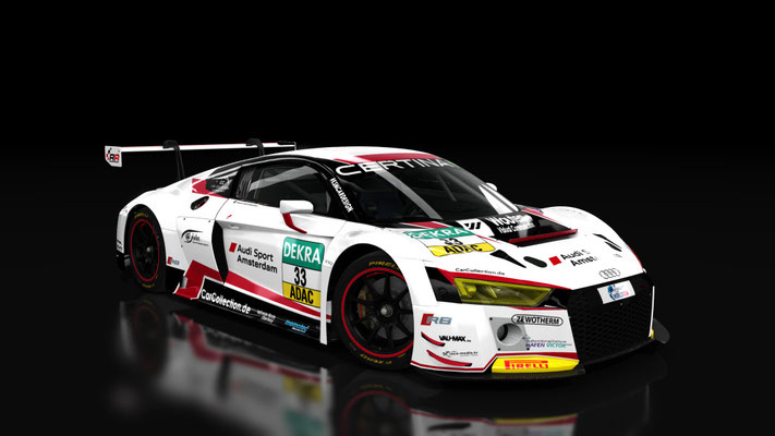Audi R8 LMS - Car Collection #33 ADAC GT Masters 2016