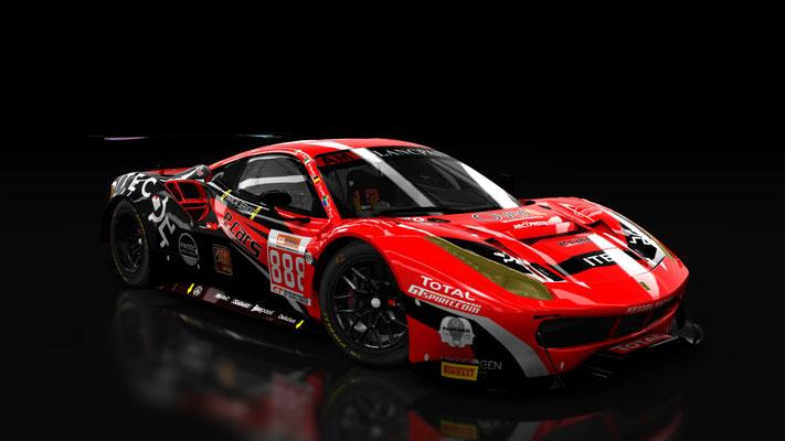Ferrari 488 GT3 Kessel Racing Spa 24h AM winner