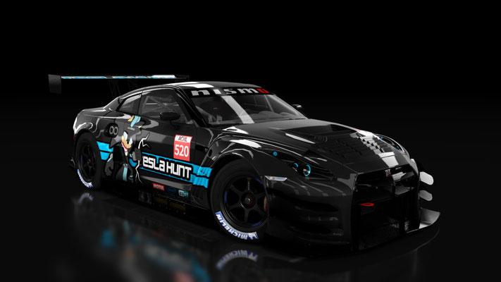 Nissan GT3 Tesla Hunt #520