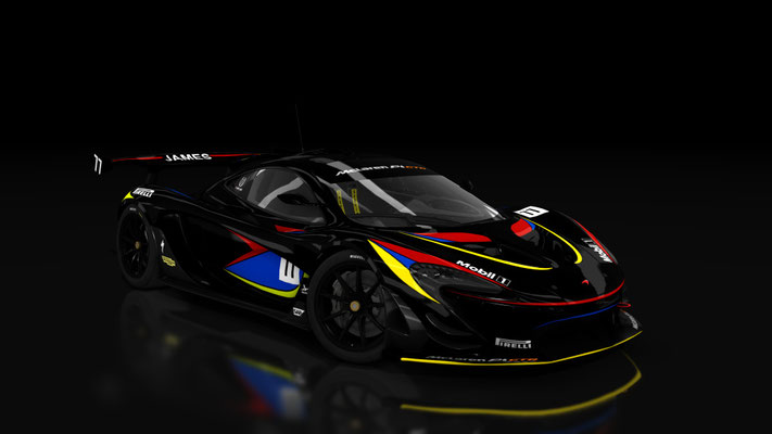 McLaren P1 GTR James Hunt 40th Aniversary Edition