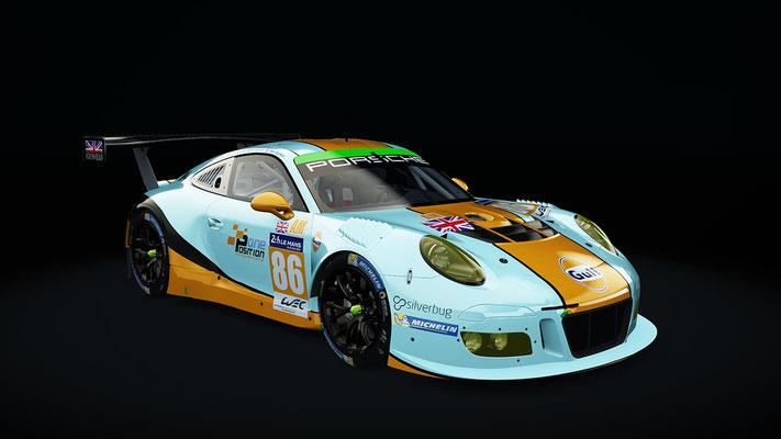 Gulf Racing UK #86