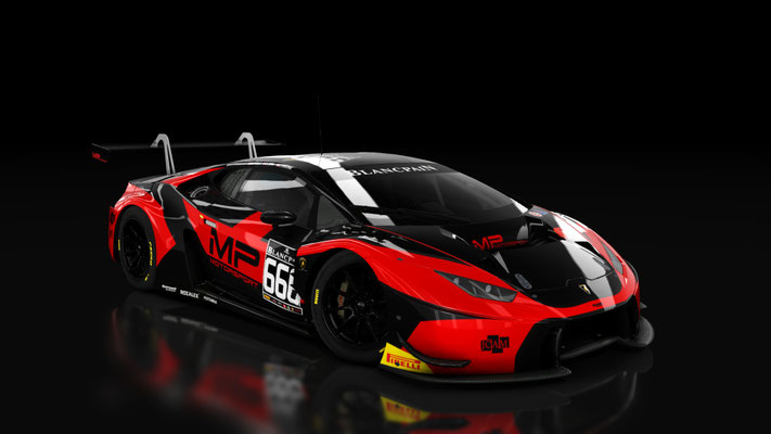 MP Motorsport By Barwell Huracan GT3 #666 BES Cup 2016