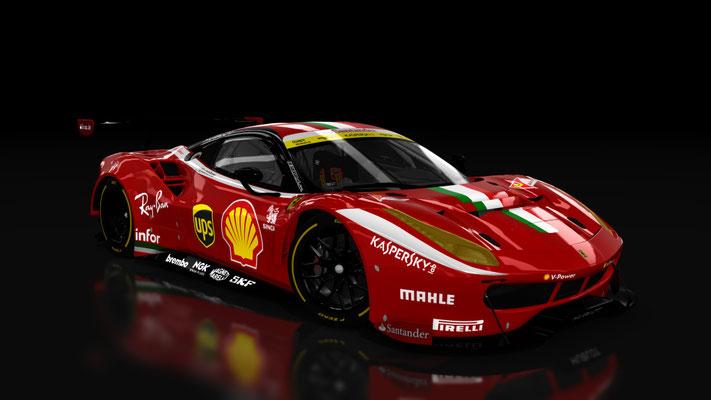 Scuderia Ferrari 488 Custom GT3