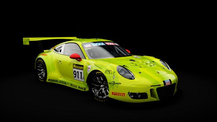 Porsche 911 GT3 R #911 Manthey Racing 'Grello' Bathurst 12hr2018