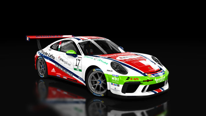 2017 Porsche Carrera Cup Italy, Enrico Fulgenzi #17