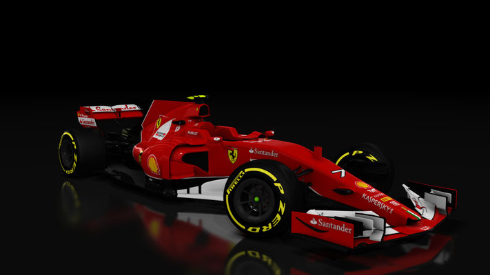 Formula Hybrid Ferrari F14T Skin