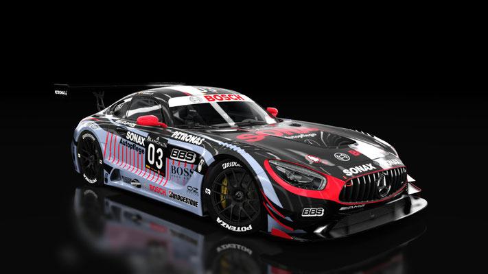 Mercedes AMG GT3 SONAX #3