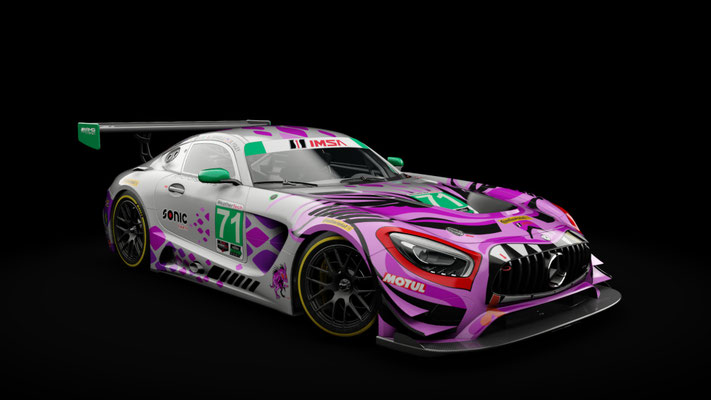 P1 Motorsports AMG Mercedes