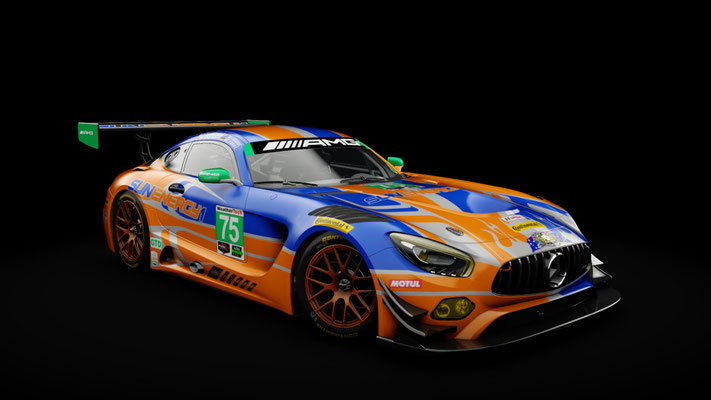 Mercedes AMG GT3 SunEnergy1 Racing