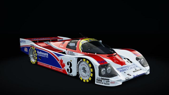 Brun Motorsport Canadian Rothmans