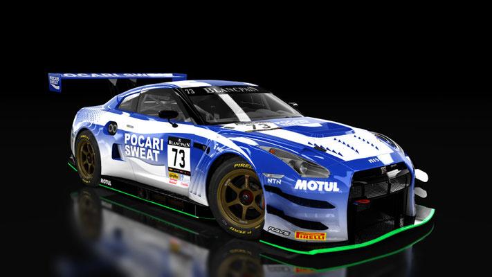 Nissan GTR GT3 POCARI SWEAT