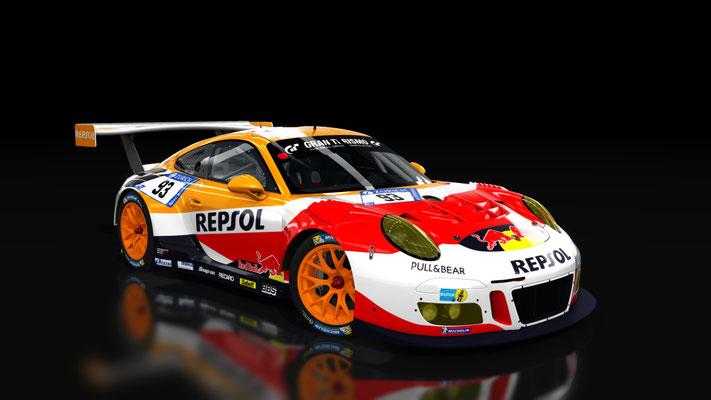 Porsche 911 GT3 R 2016 REPSOL