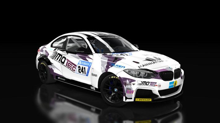 BMW m235i Racing Motec
