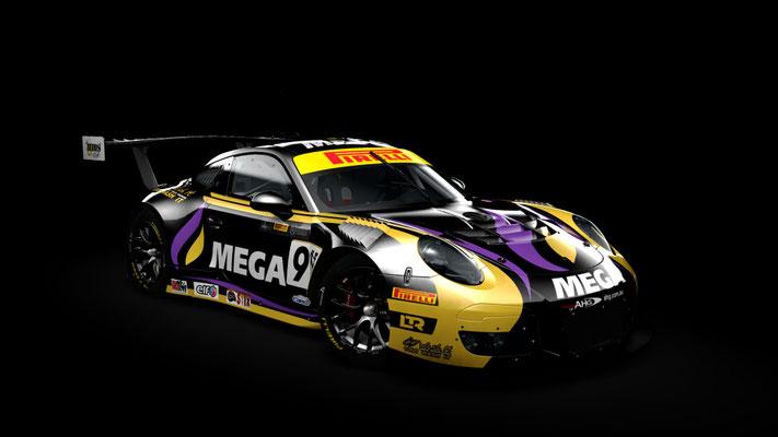 MEGA Racing Walkinshaw Porsche GT3-R