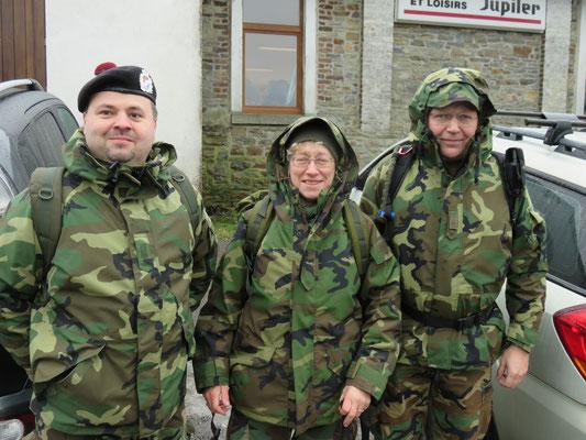 82 Airborne Marche à Manhay (B) 20-02-2016