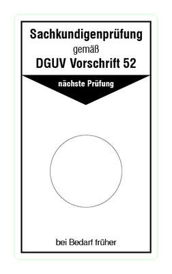 "Format: B 50, H 85 mm / Art.-Nr. 20-02-017 / ""Prüfung Krane"""
