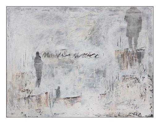 """o.T., aus der Serie """"Alltag""""; Leinwand, 80 x 115 cm"""