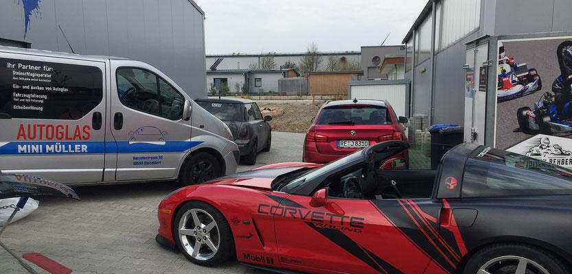 Corvette Steinschlagreparatur