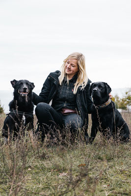 Bildstrecke mit Hundeschule Hundekompass Trainerin Anna Ostrowska Hundefotografie Berlin