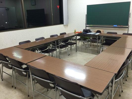北区赤羽 書道教室 集会室