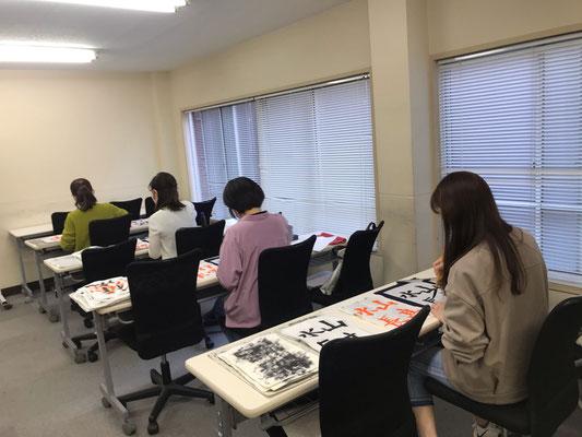 銀座の書道教室