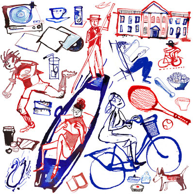 Jill Calder Illustration - General Illustration - Cambridge University Magazine
