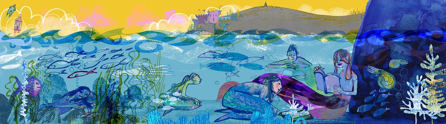 Jill Calder Illustration - Children's Illustration - Royal Brompton Hospital